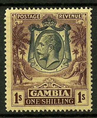 Gambia   1922-27  Scott # 113a  Mint Lightly Hinged