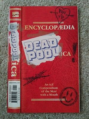 Encyclopedia Deadpoolica #1, 1st Ongoing Series