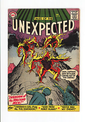 Tales Of The Unexpected #22 - Nice!  Jack Kirby Cover & Art! 1958 - Very Scarce