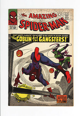AMAZING SPIDER-MAN #23 - VF/NM 9.0 to NM 9.2 - AWESOME GREEN GOBLIN COVER 1965