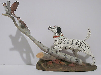 "Danbury Mint - ""Autumn Wings"" dog figurine by Stan Bentall. English Setter."