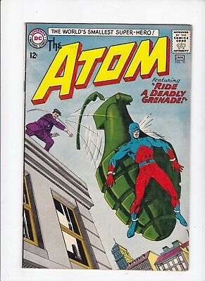 The Atom 10 DC Comics 1964 Vintage Ride a Deadly Grenade VG Comic Book Lot of 1
