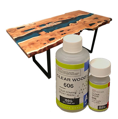Crystal Clear Epoxy Resin - Clear Doming Gap Filling -Wood Coating,Glass Finish