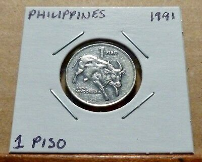 1 PISO COIN - 1991 - Philippines