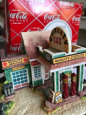 "Coca-Cola Country ""Fill'er Up and Check the Oil"" #896 by Lilliput Lane/Ray Day"