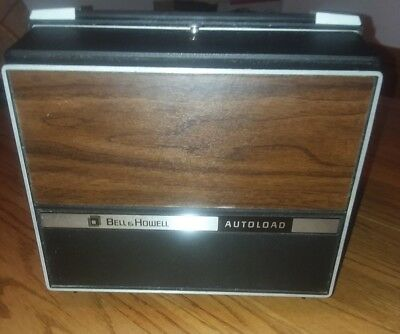 Bell and Howell Super 8 mm Autoload Movie Film Projector Model 462A