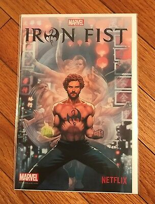 Iron Fist #1-Netflix Exclusive Variant-2016 Nycc Promo-Anacleto Cover-Defenders!