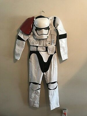 Disney Store, Star Wars First Order Stormtrooper Costume, Child size 11-12, NWT