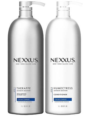 Nexus Shampoo Therappe and Conditioner Humectress Caviar Complex 33.8 oz. 2 Pack