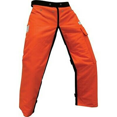 """CHAP1140-SG FORESTER™ Safety Green Chainsaw Chaps 40/"""" Length Long"""
