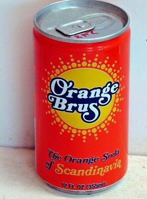 Orange Brus; Contract Beverages Inc.; St. Paul, MN; Soda Pop Can