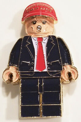 US President Donald Trump Make America Great Hat Lego Challenge Coin (non NYPD)