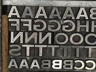 24 Point Copperplate Gothic Heavy Letterpress Type