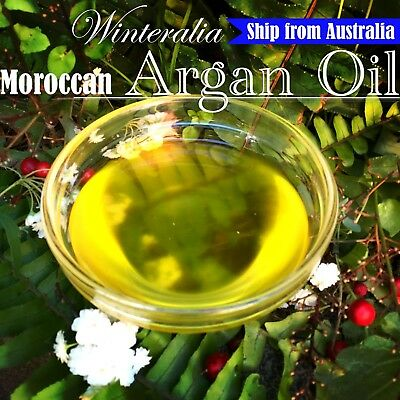 ECOCERT / USDA Certified 100% Organic PURE MOROCCAN  ARGAN OIL - Cold Pressed