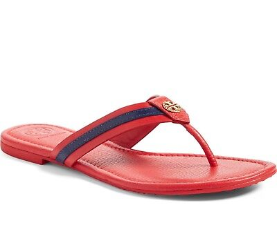 a7f97527aa0b NIB TORY BURCH  198 NANTUCKET SEA MARITIME THONG FLIP FLOP SANDALS Sz 5.5