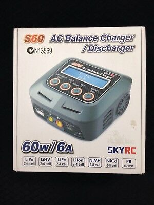 SKYRC S60 AC Balance Charger / Discharger (60W/6A)