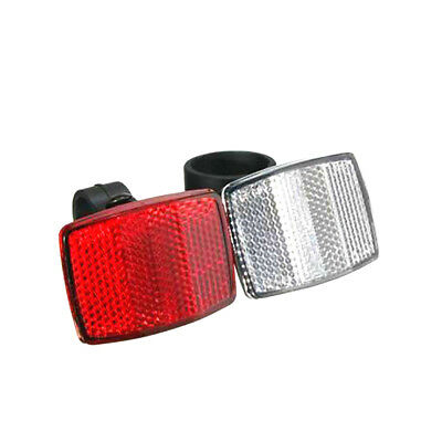 1Pc Bicycle Front Rear Reflector Road Bike Reflective Lens Bicycle Accessories