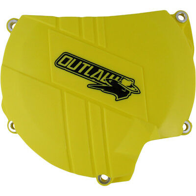 Outlaw Racing NEW Mx Suzuki RMZ450 08-17 Yellow Motocross Clutch Cover Protector