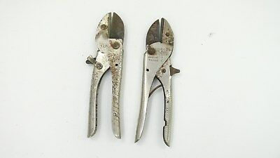 Lot of 2 Vintage Secateurs Pruning Anvil Type Ryse Australia True Cut Sheffield