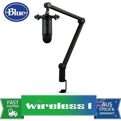 Brand New Blue Microphones Yeticaster Pro Broadcast Bundle with Yeti/Shockmount/