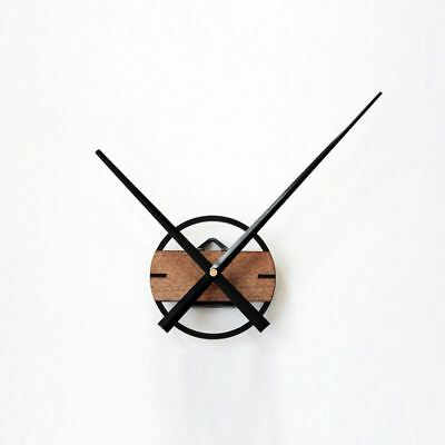 Quality Large Silent Quartz DIY Wall Clock Movement Hands Mechanism Repair D8W7