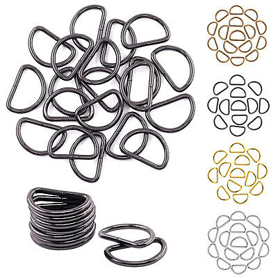 D Rings Buckle for Arts and Crafts Pet Collars Webbing Bags Belt Buckle Handbags