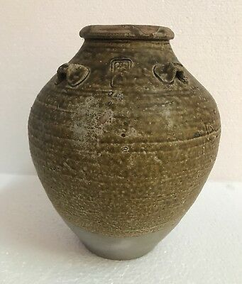 Large Song Dynasty Guangdong 12th Century Stoneware storage Jar