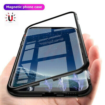 Luxury Magnetic Adsorption Phone Case Cover For Samsung Galaxy S9 Plus S9 S8 S7