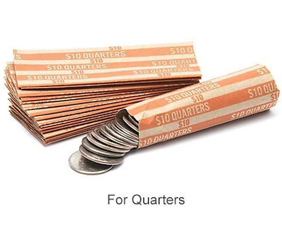 Quarter Coin Wrapper 20 Ct. Twenty Individual Wrappers for Change LOW PRICE