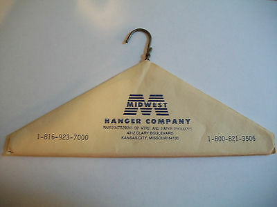 Midwest Hanger Company Missouri Minitaure Clothes Hanger Advertistment