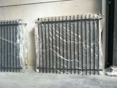 2100mm Spear Top Black Heavy Duty Security Fencing Fence Panels