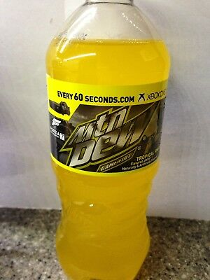 1- 20oz Bottle Mountain Dew Game Fuel 2017 Tropical Smash Fonza 7