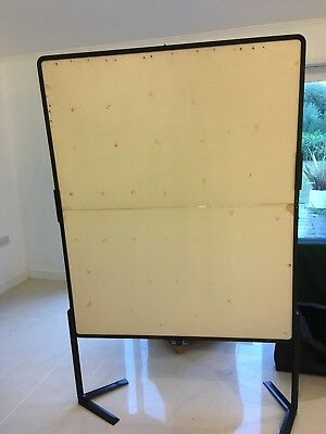 Moderation, Presentation or Display Pin Boards used for Metaplan In Carry Cases