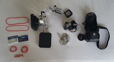 Underwater Camera package Olympus SP-550UZ plus Olympus PT-037 housing