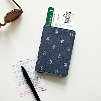 Printing Women Passport Holder Stationery PU Leather Travel Passport Cover 2019