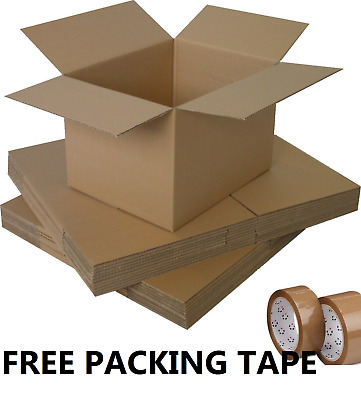 NEW 30 X LARGE Cardboard House Moving Boxes  Double Wall- Removal Packing box