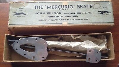Vintage & Rare 'The Mercurio Skate Ice blades or use for door pulls or coat hook
