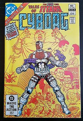 Tales Of The New Teen Titans #1 (1982 Dc) *origin Of Cyborg* Nm