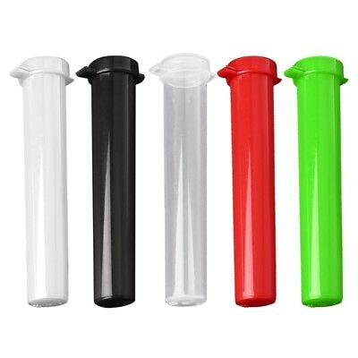 1PC Cone Shape Air Tight Hard Plastic Smoking Rolling Joint Tube Holder Portable