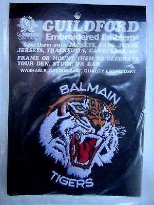 1980 Balmain Tigers Rugby League Jersey Patch....new In Pack...old Stock