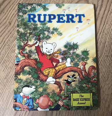 Rupert Daily Express Annual, 1973 Original, Drawings By Bestall. Great Condition