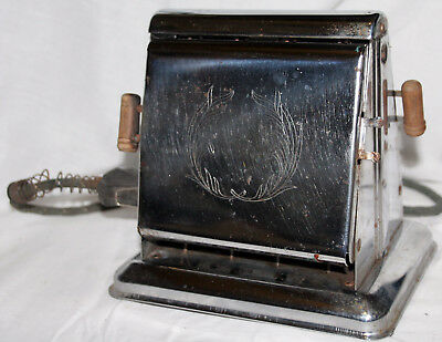 Vintage Dominion Electrical Mfg Percher Style Toaster #1103