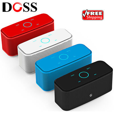 DOSS DS-1681 Portable Wireless Bluetooth Speaker Mini Stereo Player Touch Panel