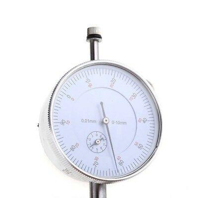 1*Dial Indicator Gauge0-10mm Meter Precise0.01 Resolution Concentricity Test WE9