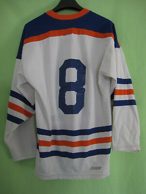 Maillot Hockey Edmonton Oilers #8 shirt NHL vintage jersey 80's Cooper - M