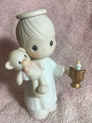 SIGNED  1994 'Lighting the Way to a Happy Holiday'  SHIP  Precious Moments