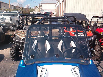 "Polaris RZR,RZR S,570,900,RZR 4 Clear Full Vented Windshield -A Full 1/4"" THICK!"