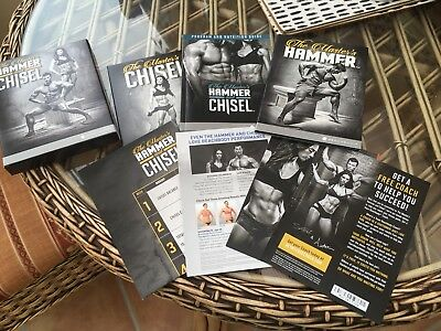 Hammer And Chisel Dvd Box Set New Fitness Exercise Sealed Gym Beachbody Fit
