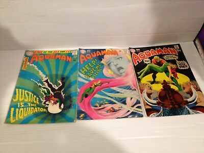 Aquaman Vintage Comics #38 #40 #46