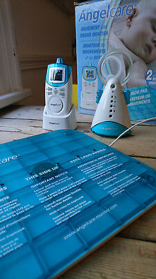ANGELCARE ANGEL CARE MOVEMENT AND SOUND BABY MONITOR used in good working order